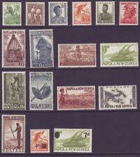 Papua New Guinea 1952 SC 122-138 MH Set