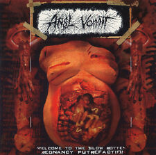 Anal Vomit - Welcome to the Slow Rotten Pregnancy Putrefaction, 1993-1995, CD