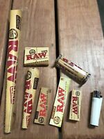Raw Papers Bundle 8 Items - Papers, Tips, Roller, Supernatural Cone Clipper