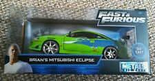 Jada Fast and Furious Brian's Mitsubishi Eclipse 1:24, 1/24 Diecast Model