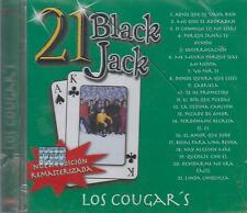 CD - Los Cougars NEW 21 Black Jack 21 Tracks Nueva Edicion FAST SHIPPING !