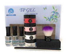 French Manicure Starter Kit plus tp05 Red , complete system. 1 oz. per jar