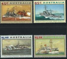 AUSTRALIA - 1993 'NAVAL & MARITIME WAR VESSELS' Set of 4 MNH SG1397-1400 [B5585]
