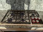 """Wolf Cooktop CT36G/S 36"""" Natural Gas Stainless Steel + Free Shipping photo"""