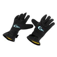 1 Pair Elastic Keep Warm 3mm Neoprene Wetsuit Gloves Anti Slip Scuba Diving