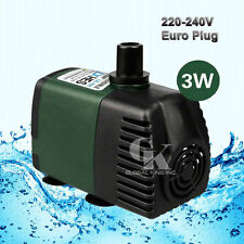 220V Submersible Pump 119GPH Aquarium Pond Powerhead Fountain Water Hydroponic