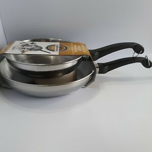 Farberware Frying Pan Set 70218 Classic Traditional Stainless Steel