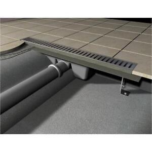 Duschrinne / Ablaufrinne edelstahl matt/glanz 700mm