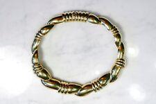 Vintage GIVENCHY Gold Tone Choker Necklace. RARE