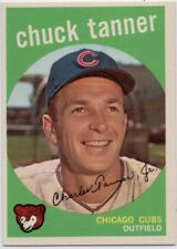 1959 Topps #234 Chuck Tanner Pack Fresh MINT Chicago Cubs FREE SHIPPING