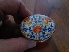 Museum Collection William Morris Rose Chintz Bone China Pill/Trinket.