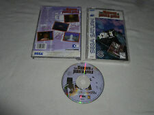BOXED SEGA SATURN VIDEO GAME THE MANSION OF HIDDEN SOULS COMPLETE W CASE MANUAL