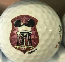 Walt Disney World Mgm Studios 2000 Double Sided Logo Golf Ball (G-13-7)