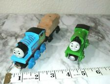 Authentic THOMAS the train & PERCY Wooden Magnetic Easter Train w/DIY Cargo Car