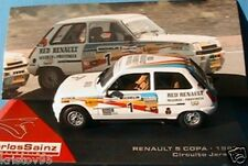 RENAULT 5 #1 COPA 1983 CIRCUITO JARAMA COLLECTION SAINZ IXO ALTAYA 1/43 SPANIA