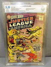 THE BRAVE & THE BOLD #29 (2nd Justice League JLA app) CBCS 5.0 DC Comics 1960
