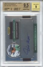 GIANCARLO STANTON MIKE 2008 Razor METAL only 179 signed rookie Auto BGS 9.5 GEM