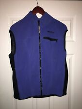Marmot Fleece Vest Size XL Blue