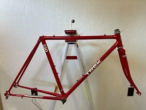 Trek 330 lugged steel bicycle frame fork True Temper tubing 51 cm