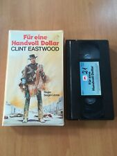 FÜR EINE HAND VOLL DOLLAR   CLINT EASTWOOD - VHS TAURUS VIDEO