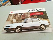 1989 DAIHATSU APPLAUSE A101 Australian Sales Brochure