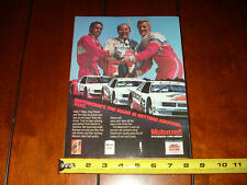 1984 FORD MOTORCRAFT MERCURY CAPRI RACE CAR - ORIGINAL AD