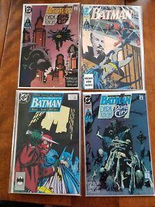 23 BOOK COMIC LOT BATMAN DETECTIVE DARK KNIGHT CATWOMAN DC COMICS BOOKS