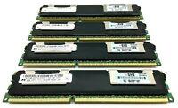 4x Micron 4GB PC3-10600R 1333MHz DDR3 RAM Server Memory MT36JSZF51272PZ-1G4F1AB