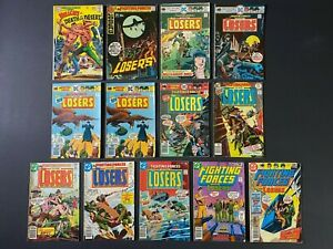 Run of (13) Our Fighting Forces (1968-78) #115-181 DC Comics Store Stock