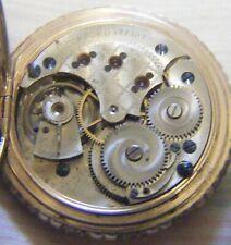 Rockford 11J 6s Pocket Watch.#399507 GF Hunting Case Good Dial & Hands Runs