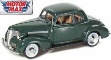 Chevrolet Coupe 1939 - Green, Classic Metal Model Car, Motormax 1/24