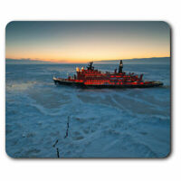Computer Mouse Mat - Icebreaker Ship Arctic Ice Office Gift #3379