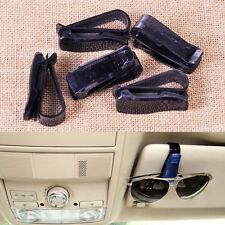 5pc Car Sun Visor Sunglasses Eye Glasses Card Ticket Holder Clip Mount Universal