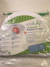OCCOBaby Universal Crib Bassinet Wedge, New, Dual Cover, Cotton, Waterproof