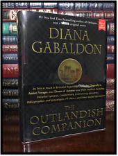 Outlandish Companion ✎SIGNED✎ by DIANA GABALDON New Outlander Hardback Books 1-4