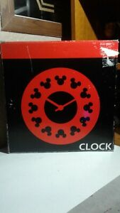 Michael Graves Design WALL MICKEY CLOCK  NEW IN BOX MOLLER DESIGN DISNEY