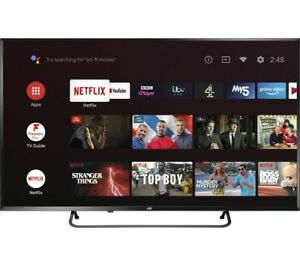 "JVC LT-50CA890 Android TV 50"" Smart 4K Ultra HD HDR LED TV with Google Assistant"