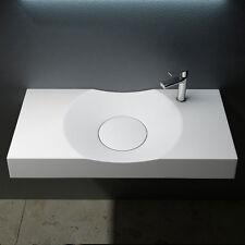 eckige waschtische f r das badezimmer ebay. Black Bedroom Furniture Sets. Home Design Ideas