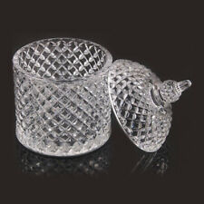 NEW Clear Glass Candy/Sugar/Cosmetic/Candle Jars & Lid 9oz DIY Kit - BULK SAVING