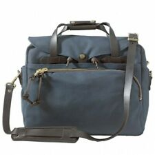 FILSON PADDED COMPUTER BAG NAVY 70258 RUGGED TWILL BRIEFCASE LAPTOP LEATHER