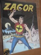 ZAGOR n 1 Zenith Anastatico n 52 con Diario Inedito Cover