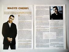 COUPURE DE PRESSE-CLIPPING : MAGYD CHERFI [2pages] 05/2004 Interview,(Zebda)