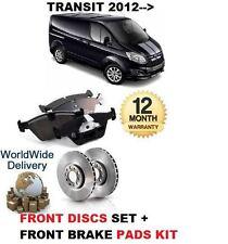für Ford Transit nach Maß 2.2 TDCi 2012- > Vorderbremse Scheibensatz +