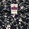Vintage floreale shabby chic con stampa Popeline di cotone abiti tessuto 112CM