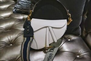 Christian Dior SADDLE BAG Latte Grained Calfskin Medium