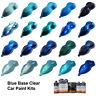 Blue Car Paint Colors - Base Clear Car Paint Kits