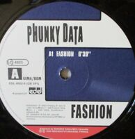 "PHUNKY DATA - Fashion ~ 12"" Single"