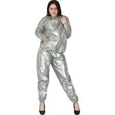 gummig weicher Saunaanzug* Gr. M-L * PVC Vinyl Hose + Top* Schwitzanzug * Kostüm