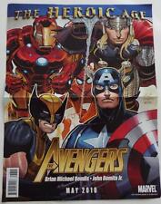 SDCC 2010 Marvel The Heroic Age The Avengers 2-Sided Mini Poster 13 x 10