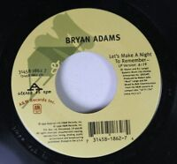 90'S/Rock 45 Bryan Adams - Let'S Make A Night To Remember / Star On A&M Records